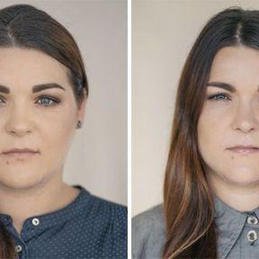 """""""Devenir mère""""- 33 femmes photographiées avant et après la naissance de leur enfant #15"""
