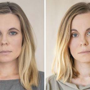 """""""Devenir mère""""- 33 femmes photographiées avant et après la naissance de leur enfant #18"""