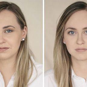 """""""Devenir mère""""- 33 femmes photographiées avant et après la naissance de leur enfant #19"""