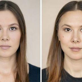 """""""Devenir mère""""- 33 femmes photographiées avant et après la naissance de leur enfant #22"""