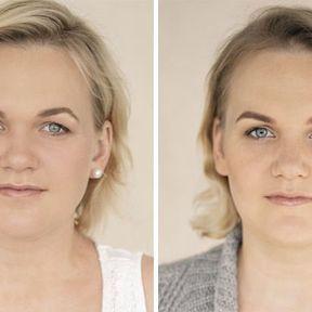 """""""Devenir mère""""- 33 femmes photographiées avant et après la naissance de leur enfant #33"""