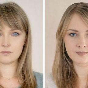 """""""Devenir mère""""- 33 femmes photographiées avant et après la naissance de leur enfant #7"""