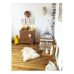 La chambre de bébé animaux