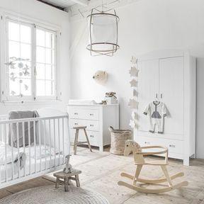 La chambre de bébé cocooning