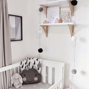 La chambre de bébé confort