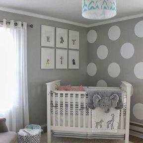La chambre de bébé douillette