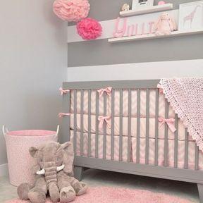 La chambre de bébé glamour