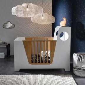 La chambre de bébé suspensions nuage