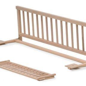 Une barrière de lit pliable