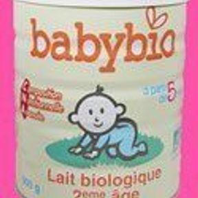 Babybio Lait biologique 2e âge   Du bio dès le berceau !