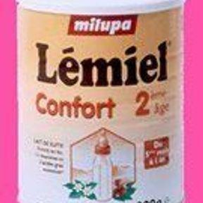 Milupa Lémiel confort 2e âge   Un goût unique