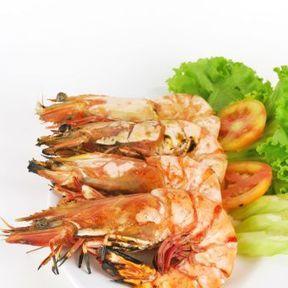 Crevettes et langoustines cuites