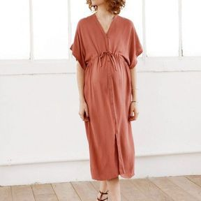 Robe casual rose - Emoi Emoi