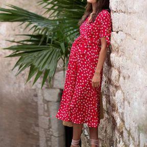 Robe rouge - Séraphine