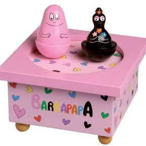 La boîte à musique Barbapapa de chez Trousselier