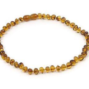 Le collier d'ambre de Bébé au Naturel