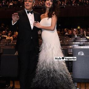 Amal Clooney enceinte de jumeaux, février 2017