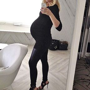 Gwen Stefani enceinte, janvier 2014