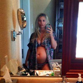 Jessica Simpson enceinte, décembre 2012