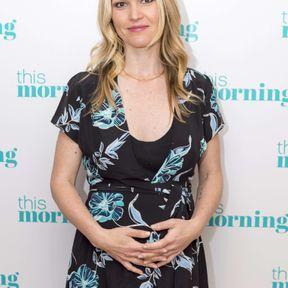 Julia Stiles enceinte, juin 2017