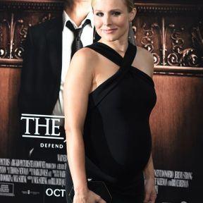 Kristen Bell enceinte, octobre 2014