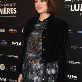 Marion Cotillard enceinte, janvier 2017