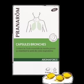 Capsules bronches – Pranarôm