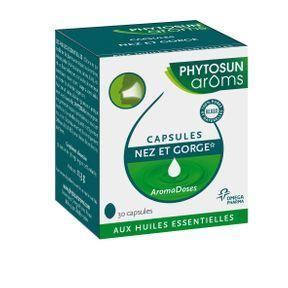 Capsules nez et gorge – Phytosun aroms