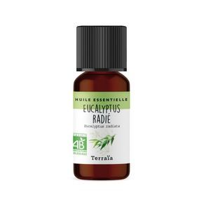 Huile essentielle Eucalyptus Radié bio - Terraïa