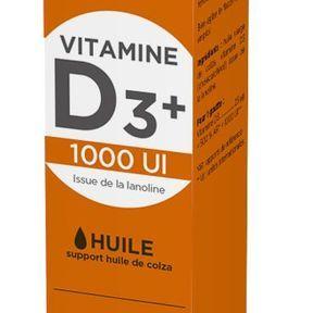 Vitamine D3+ 1000 UI - Orfito