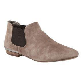 Low boots en daim Comptoir des cotonniers printemps été 2014