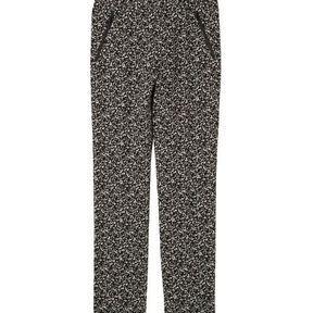 Pantalon fluide à imprimés Comptoir des cotonniers printemps été 2014