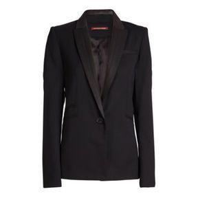 Veste de costard noire Comptoir des cotonniers printemps été 2014