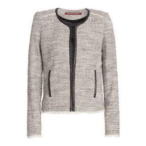 Veste en tweed Comptoir des cotonniers printemps été 2014