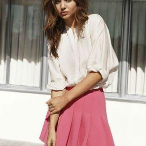 Chemise blanche H&M printemps été 2014