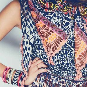 Foulard ethnique New Look printemps été 2014
