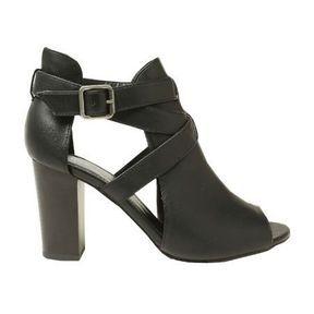 Boots ajourées noires Pimkie printemps été 2014