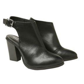 Boots noires Pimkie printemps été 2014