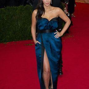 Kim Kardashian en Lanvin en 2014
