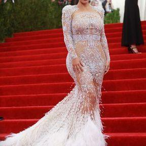 Kim Kardashian en Roberto Cavalli