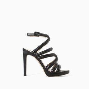 Sandales à talons Zara 2014