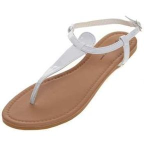 Sandales blanches Kiabi 2014