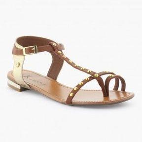 Sandales dorées K By Kookaï 2014