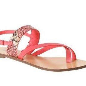 Sandales été Promod 2014