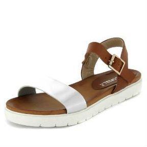 Sandales métallisées Kiabi