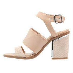 Sandales nude Miss Selfridge