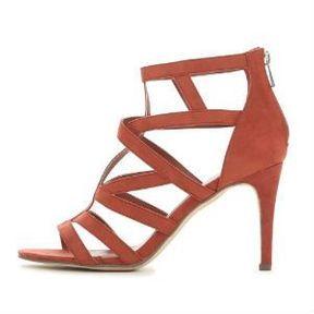 Sandales brique Pimkie
