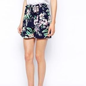 Short taille haute imprimé New Look 2014