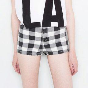 Short taille haute tendance Pull & Bear 2014