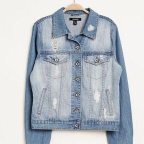 Veste en jean clair Jennyfer 2014